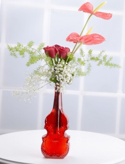Kemaninin Düeti Kırmızı Güller  çiçek gönder