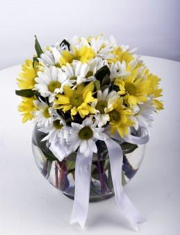 Güneş Doğuyor Kır Çiçeği Arajmanı  çiçek gönder