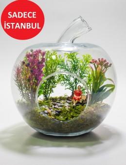 Yapay Teraryum Huzur Bahçesi  çiçek gönder