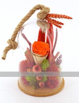 Aşkın Süresi Yoktur Solmayan Güller  çiçek gönder