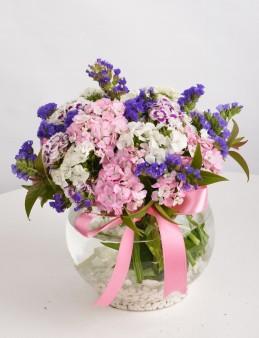 Yazın Habercisi Çiçek Arajmanı  çiçek gönder