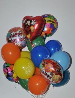 Doğum Günü Uçan Balon Buketi  çiçek gönder