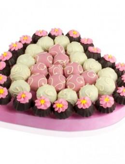 Lezzetli Pembe  çiçek gönder