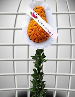 Turunculu Ayaklı Sepet Düğün Çelenkleri çiçek gönder