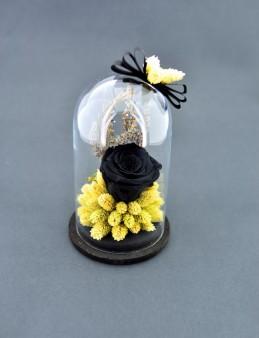 Siyah Solmayan Gül  çiçek gönder