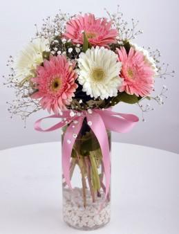 Hayallerimin  Prensesi Gerbera Çiçek Arajmanı  çiçek gönder