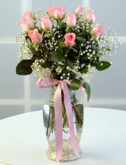 Zarafetin 11 Pembe Kelimesi  çiçek gönder