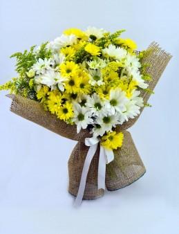 Kış Güneşi Kır Buketi  çiçek gönder