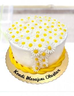 Papatya Bahçesi Pasta  çiçek gönder