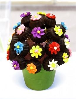 Çiçekli Lezzet Kurabiyeleri  çiçek gönder