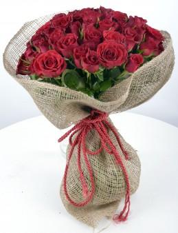 Asil Aşk 101Adet Kırmızı Gül Buketi  çiçek gönder