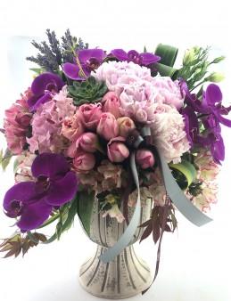 Şakayıklı Modern Bir Tasarım  çiçek gönder