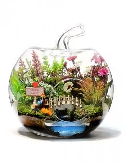 Kişiye Özel Senin Bahçen Teraryumu  çiçek gönder