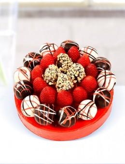 Red Sweet Meyve Sepeti  çiçek gönder