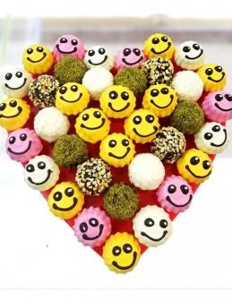 Gülen Çikolatalar  çiçek gönder