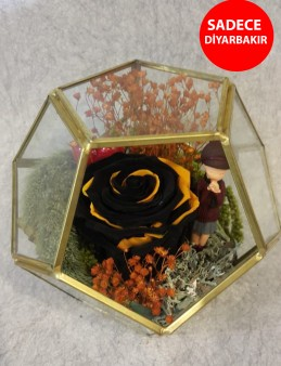 Tek Dileğim Sensin Solmayan Gül Aranjmanı Aranjmanlar çiçek gönder