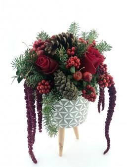 Yeni Yıl Çiçek Tasarımı Aranjmanlar çiçek gönder
