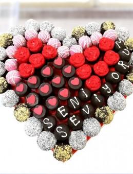 Mix Heart  çiçek gönder