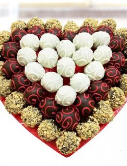 Truf Heart  çiçek gönder