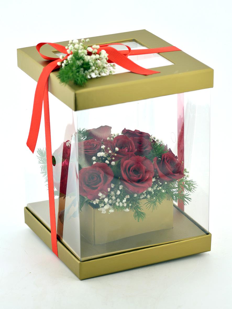 Aşk Zamanı 11 Kırmızı Gül  çiçek gönder