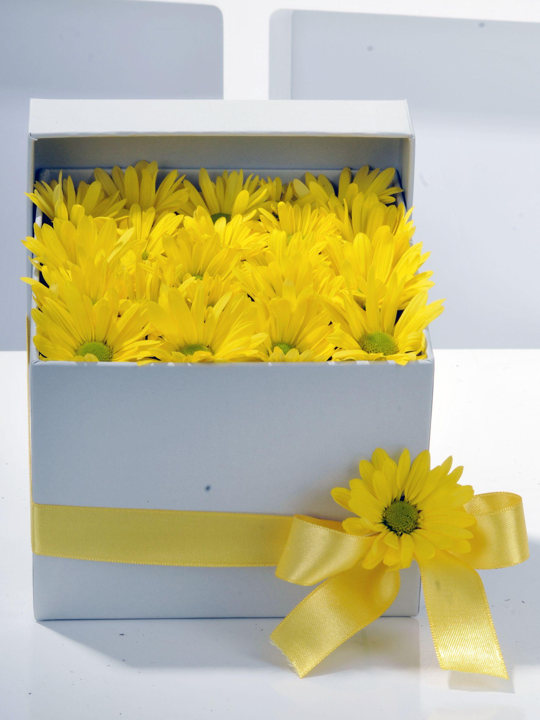 Bahar Özlemi Kır Çiçeği Kutuda Çiçek çiçek gönder