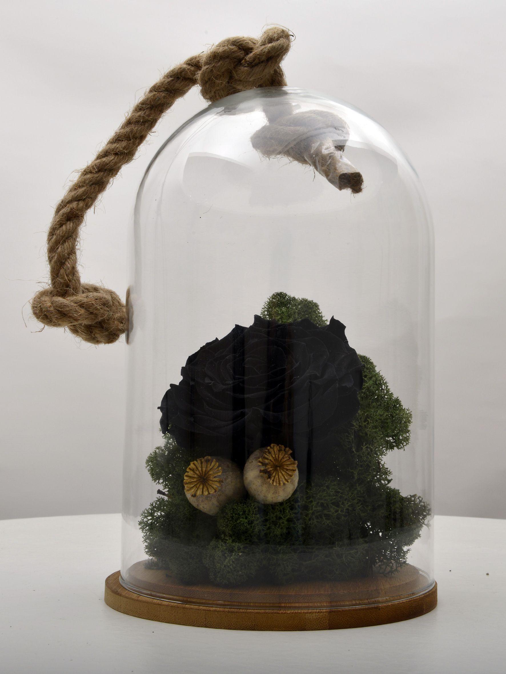 Bir Tek Sen Varsın Solmayan Siyah Gül Aranjmanlar çiçek gönder