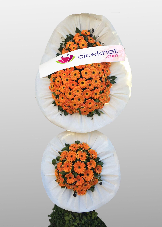 Görkemli Açılış ve Düğün Ayaklı Sepeti Ayaklı Sepet çiçek gönder