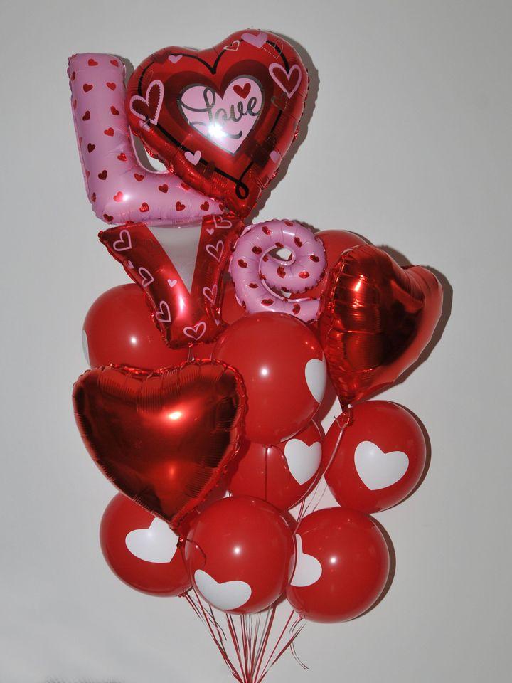 Kalpten Sevmek Uçan Balon Buketi  çiçek gönder