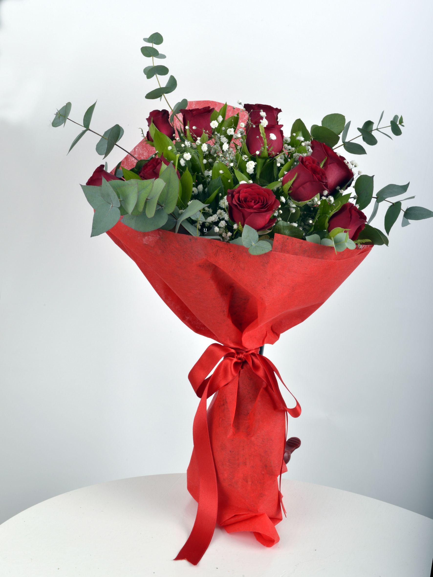Buket 11 Kırmızı Gül  çiçek gönder