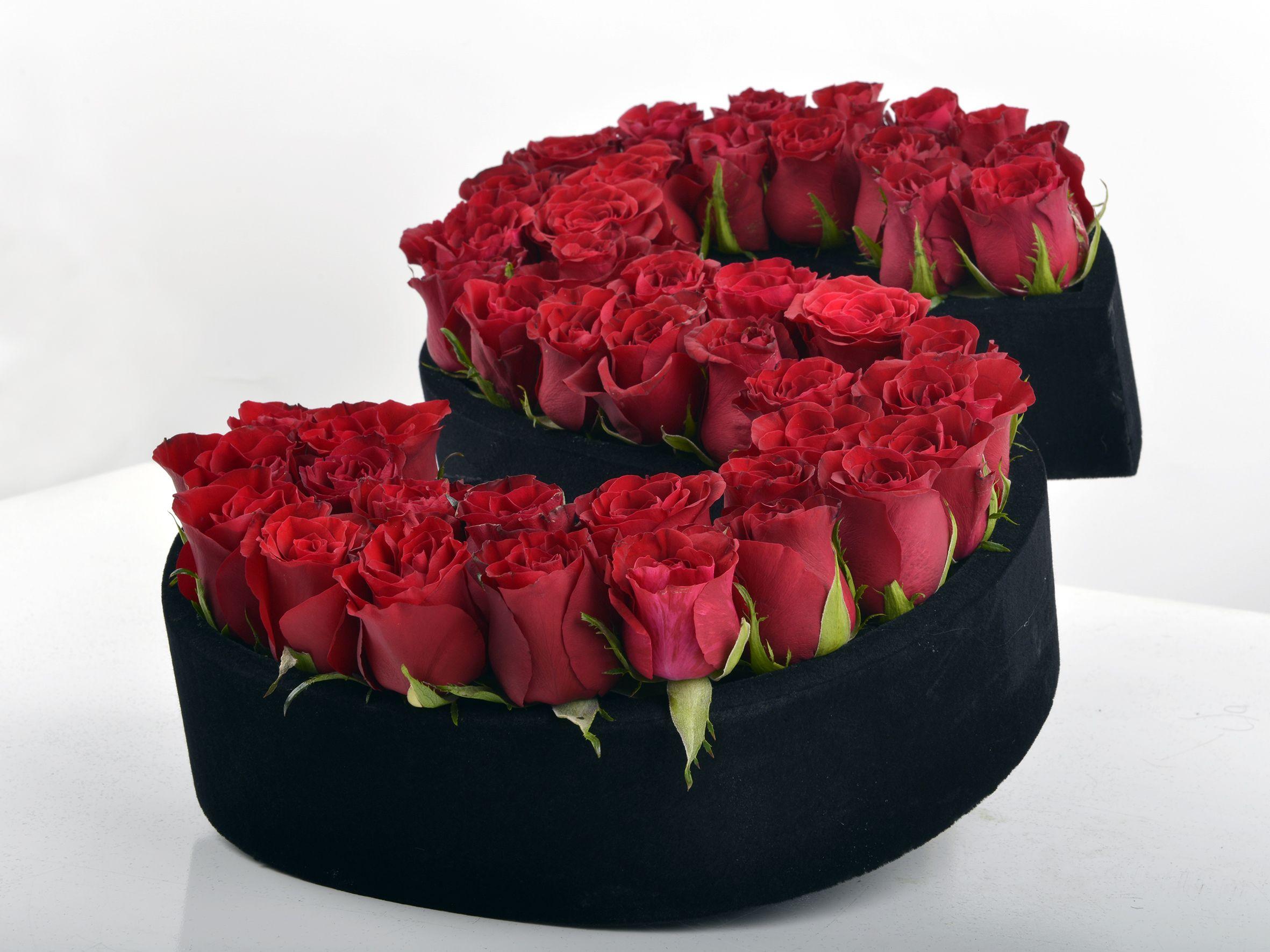 Biricik Aşkıma Çiçekli Harf Folyolu Uçan Balon Harfli Çiçek çiçek gönder
