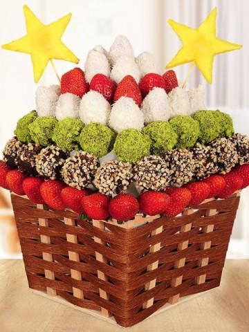 Lovely Meyve Sepeti Meyve Sepeti ve Çikolatalar çiçek gönder