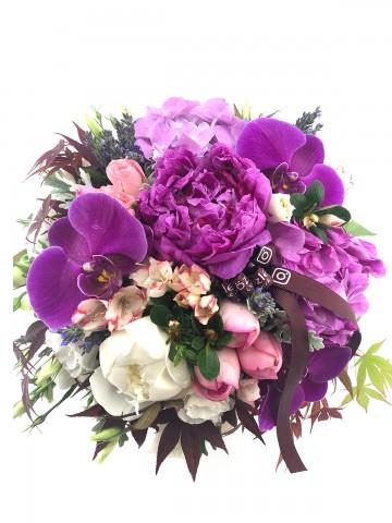 Dünya nın En Kıymetli Şakayıklı Çiçek Arajmanı Aranjmanlar çiçek gönder