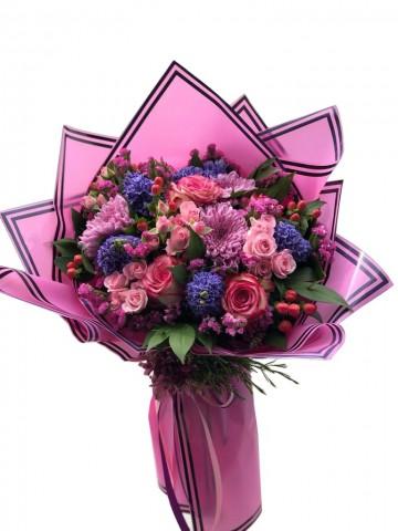 Özel Tasarım Karışık Çiçek Buketi Buketler çiçek gönder
