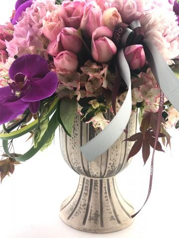 Şakayıklı Modern Bir Tasarım Aranjmanlar çiçek gönder