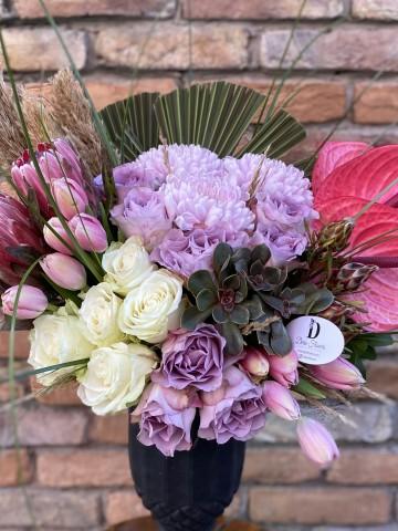 Seramikte Butik Aranjman Aranjmanlar çiçek gönder