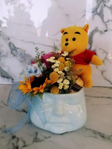 Exclusive Collection Mavi Hoşgeldin Bebek Aranjmanı Aranjmanlar çiçek gönder