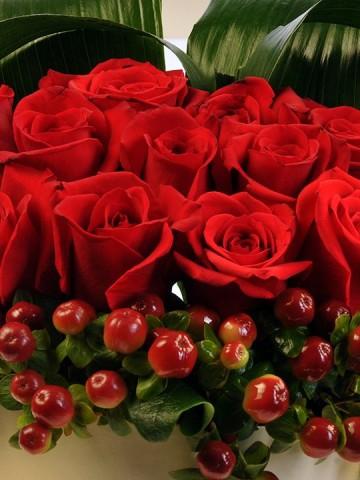 Aşkın Diğer Adı Güller Kutuda Çiçek çiçek gönder