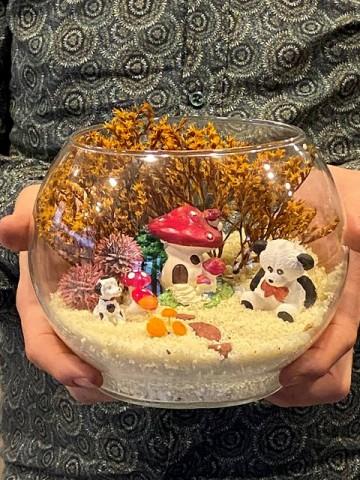 Teraryum Mini Bahçem Terarium çiçek gönder