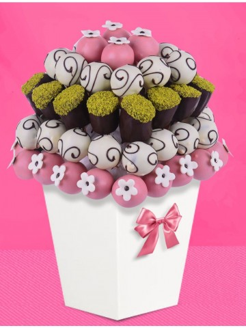 BENVENUTO MEYVE SEPETİ Meyve Sepeti ve Çikolatalar çiçek gönder