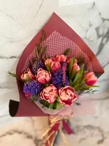 Lale-i Sümbül Buketler çiçek gönder
