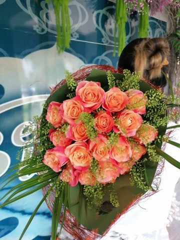 Orange Smile Buketler çiçek gönder