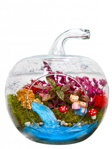 Çocukluk Hatırası Yapay Teraryum Terarium çiçek gönder