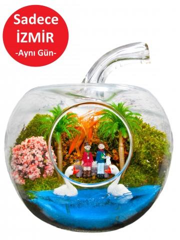 Rüyam Yapay Teraryum Terarium çiçek gönder