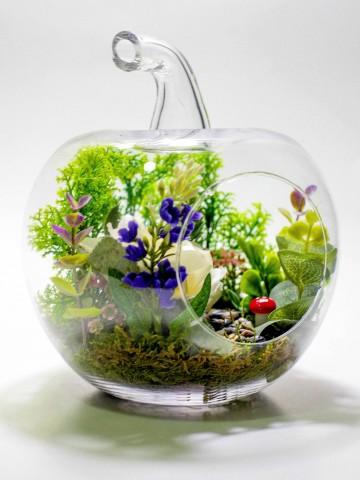 Yapay Teraryum Yalnız Bahçem Terarium çiçek gönder