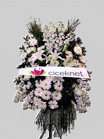 Beyazlı Ferforje Aranjman Ferforje çiçek gönder