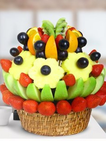 Sunset Meyve Sepeti Meyve Sepeti ve Çikolatalar çiçek gönder