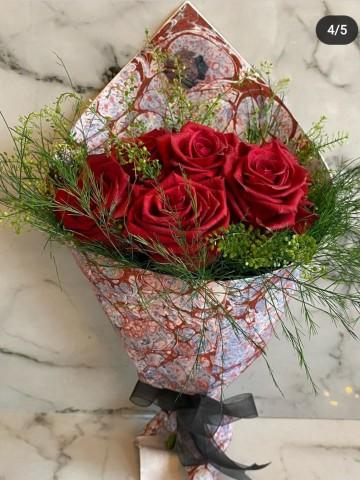 Ebru Sanatlı Ekvator Gülleri (Special Collection) Buketler çiçek gönder