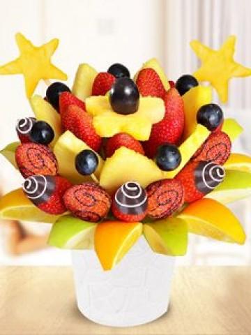 Fruit Garden Meyve Sepeti Meyve Sepeti ve Çikolatalar çiçek gönder