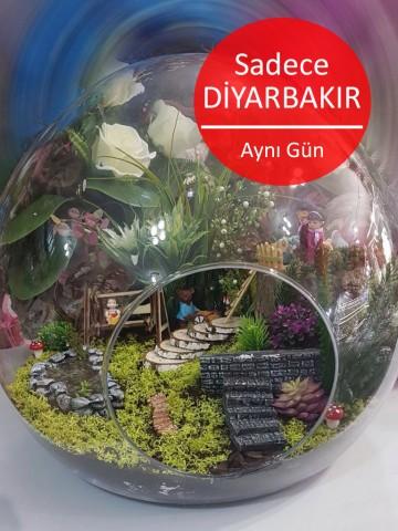 Dünya Yapay Terrarium 4 Terarium çiçek gönder