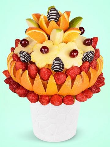 Tebrikler Meyve sepeti Meyve Sepeti ve Çikolatalar çiçek gönder